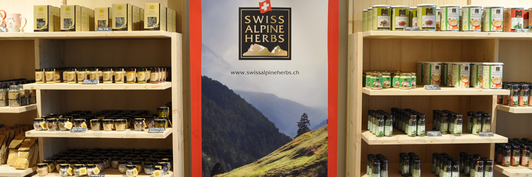 Swiss Alpine Herbs Fabrikladen